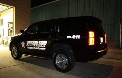 Albemarle Sheriff reflective printed wrap