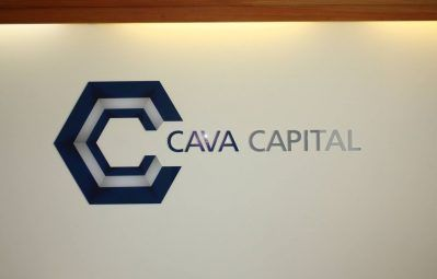 Cava Capital decal and 3d lettering