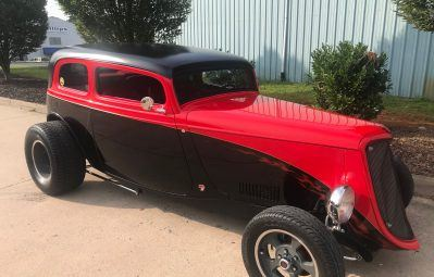 Two tone eye catching hot rod