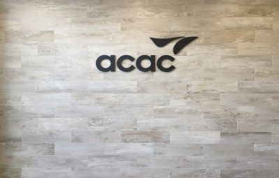 acac routed 3d interior logo