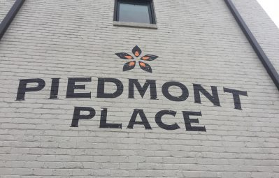Piedmont Place wall graphic