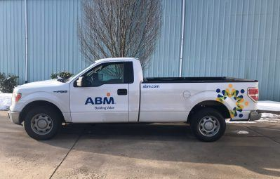 ABM decal and logo 3m wrap