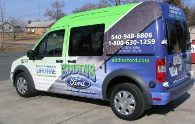 Eddins Ford full wrap 3m printed