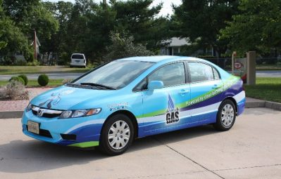 Charlottesville Gas full wrap color print