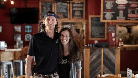 Moe's BBQ Owners | Mike & Ashleigh Abrams | Charlottesville, VA