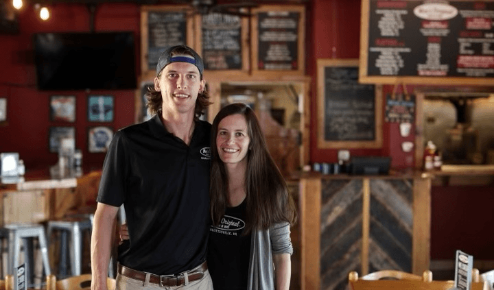 Moe's BBQ Owners   Mike & Ashleigh Abrams   Charlottesville, VA
